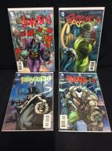 4 factory sealed issues of Batman 3-D. 23.1, 23.2, 23.3, 23.4