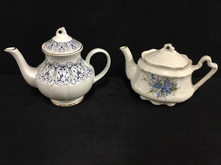 Vintage Arthur Wood & Son Teapots - staffordshire england
