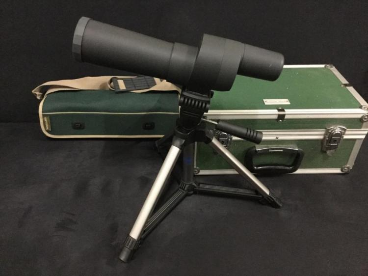Vanguard Sf-601 spotting scope in case