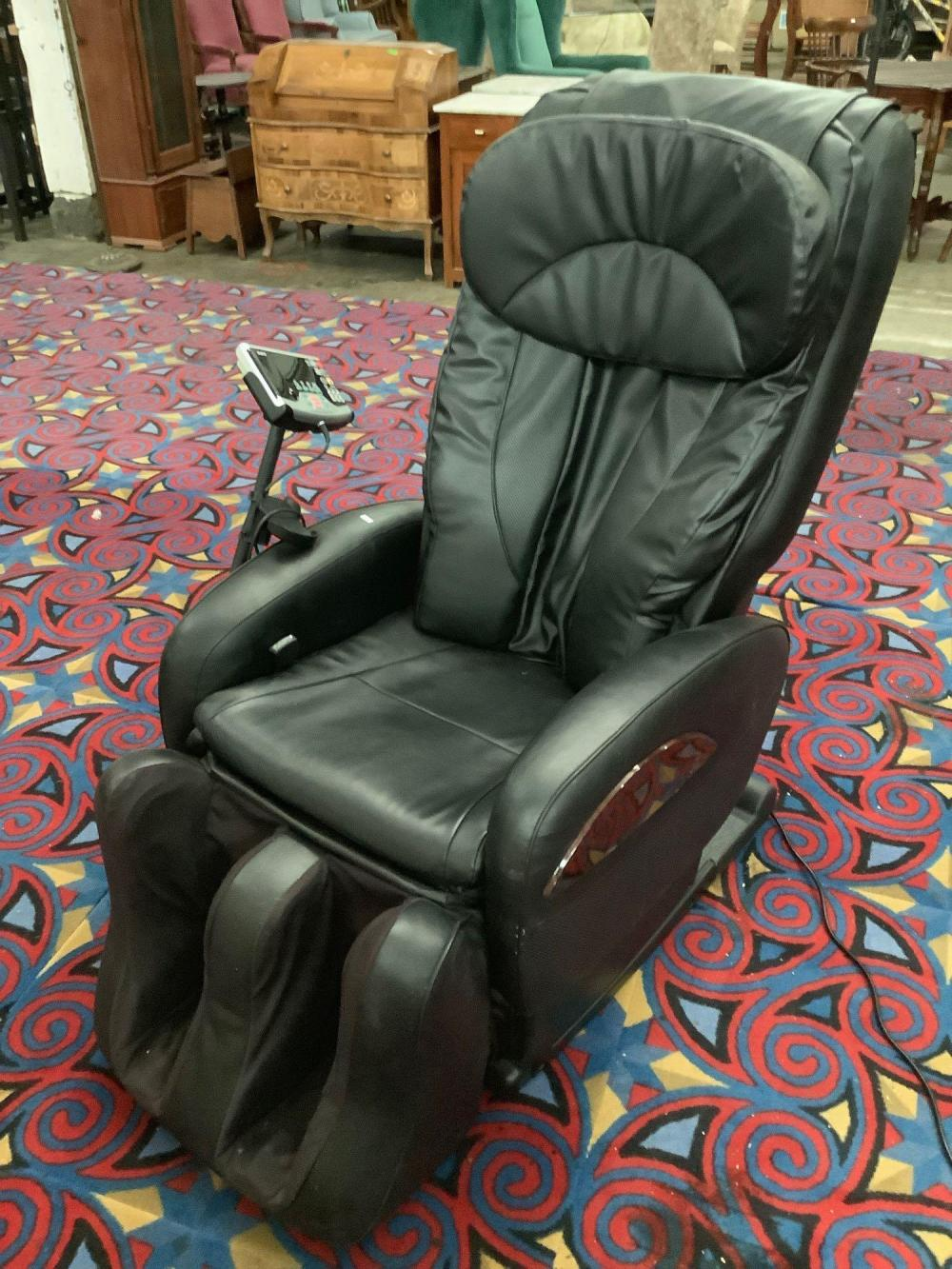 Sanyo electric massage lounger chair , model no. HEC-DR7700K