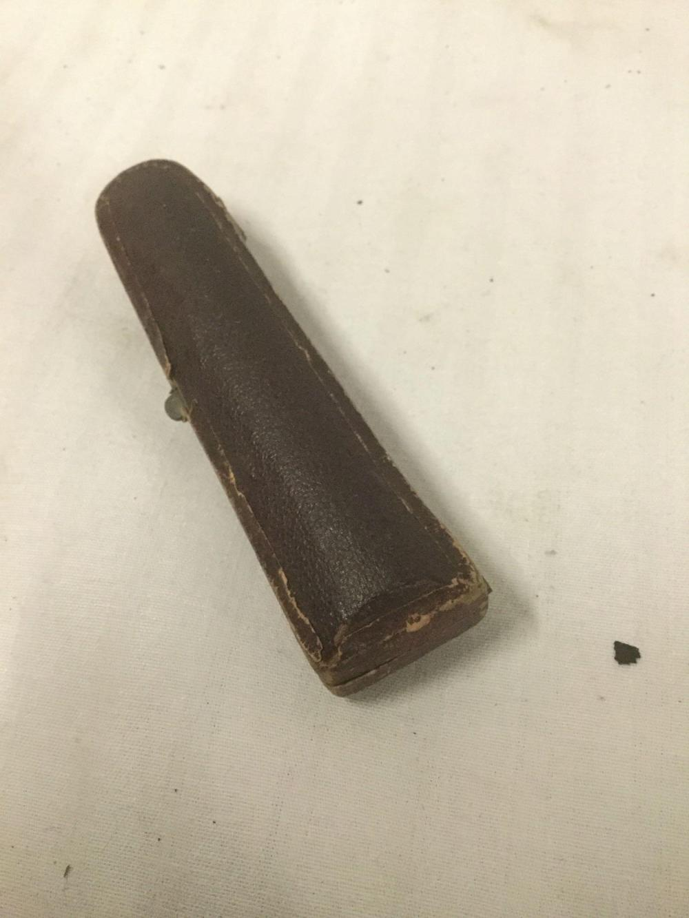 Lot 90: Vintage Genuine Meerschaum and amber cigarette holder