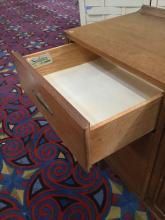 Lot 127: Vintage Mid Century Broyhill Sculptra 9 Drawer low boy Dresser/Buffet