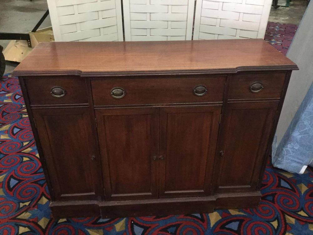 Vintage 1930's-1940's White Brand Buffet/sideboard with classic design