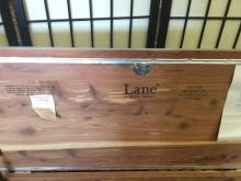 Lot 140: Lane chest with all of the original sellers information
