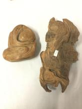 Lot 160: Primitive Collection - tusk pc, 2 fossilized teeth, obsidian, coral, 2 semi polished stones and more
