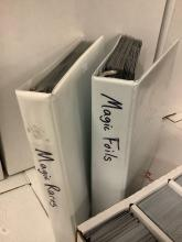 Lot 180: Large collection of 11 boxes & 2 binders (70 thousand cards) of Magic cards incl. rares & foils