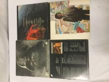 Lot 201: Lot of 4 records - Star Wars gatefold vinyl w/ poster, Lord of the Rings soundtrack, & 2 Al Stewart