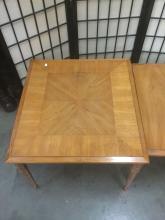 Lot 323: 3 vintage mid century nesting end tables