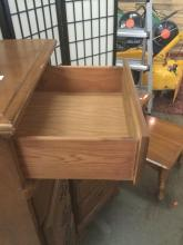 Lot 233: 4 pieces of matching Washburn furniture - dresser, 2 end tables and a night stand