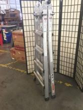 Lot 239: Gorilla ladders 4 in 1 professional ladder