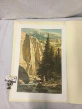 Lot 256: Ltd Ed litho by Frank McCarthy - Along the West Fork - signed and #'d 775/1000