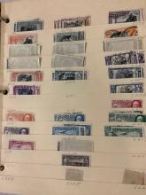 Lot 356: 3 binders full of antique stamps from Costa Rica, Cuba and Columbia, dating back to 1890s