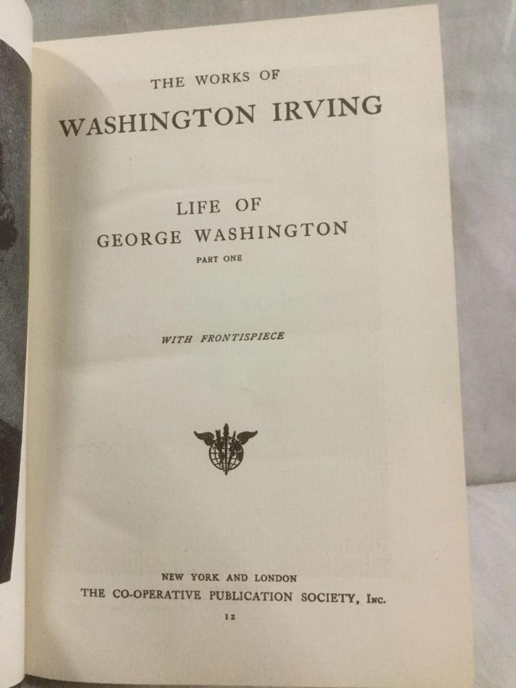 a report on the life and works of washington irving Second half of the program is dramatization of washington irving's life  his  brothers create the paper salmagundi and decides to write the history of new  york,.