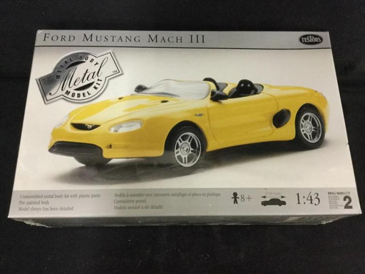 Ford Mustang Mach III Metal Body Kit by Testors in box
