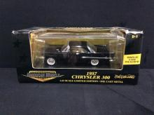 A 1957 Chrysler 300 1:43 scale die-cast car by American Muscle