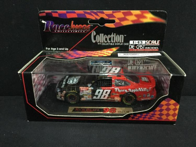 Race image Colectibles Rich Bickle # 98 1:43 scale die cast model