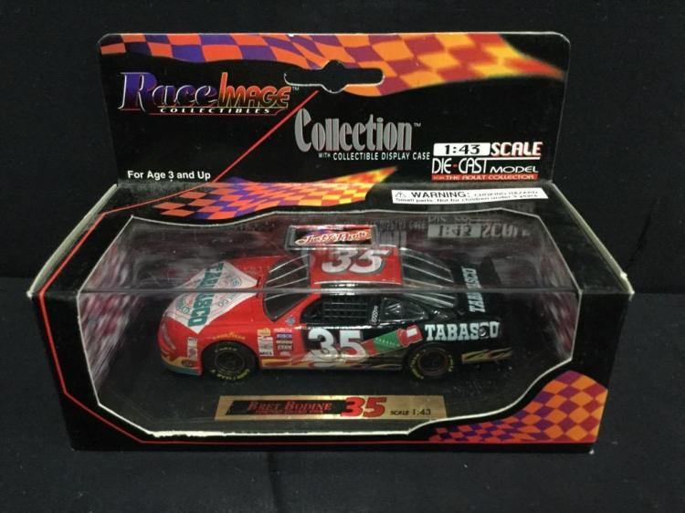 Race image Collection Bret Bodine #35 1:43 Scale model Car