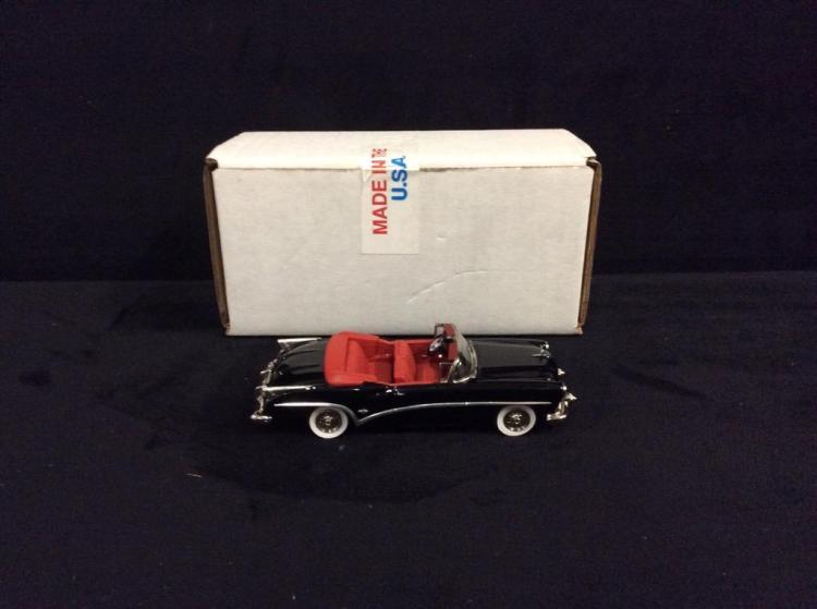 AM 3 1954 Black Buick Skylark Convertible in box.