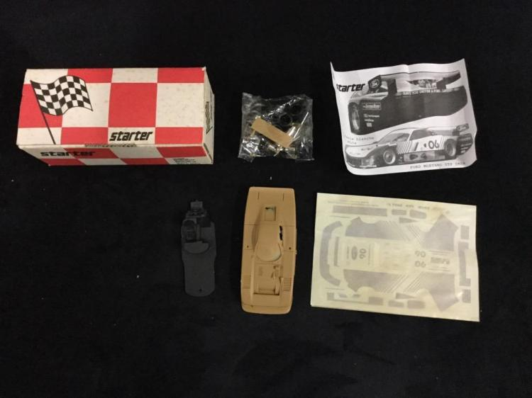 Starter Ford Mustang GTP IMSA 83 model kit in box
