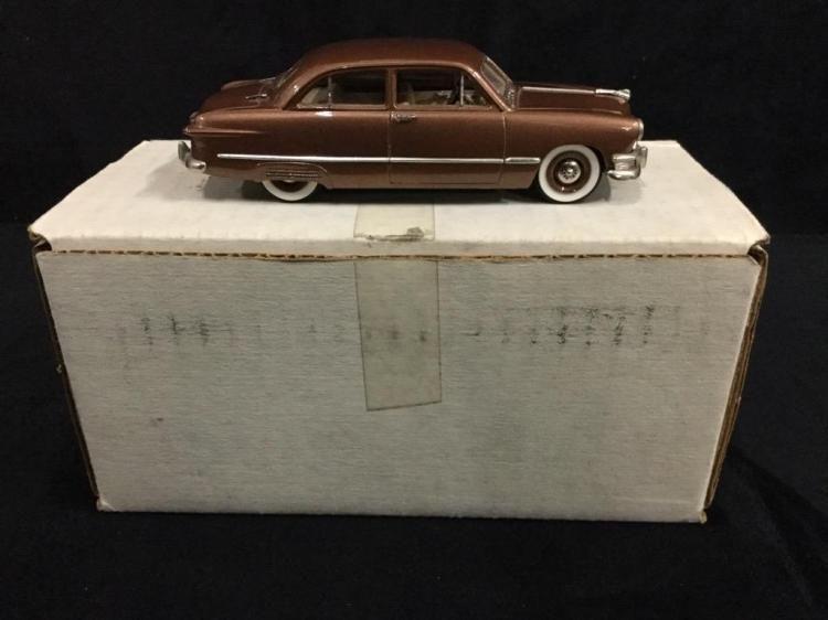 Motor City USA model 1950 Ford 2 Door Sedan in box