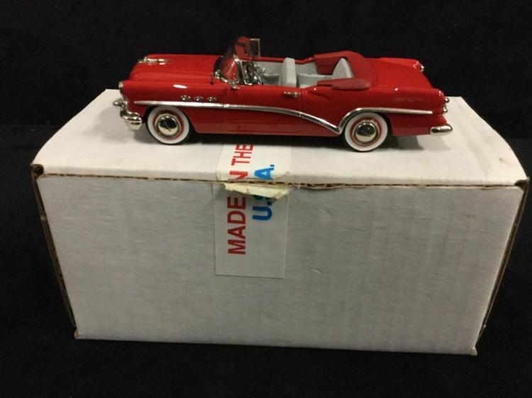 American Models 1954 Buick Century Convertible in box