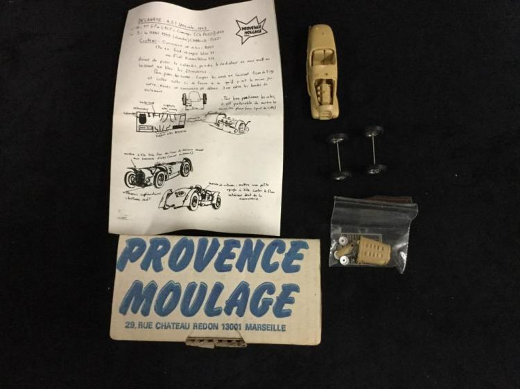 Provence Moulage 1949 Delehaye 4.5L model kit in box
