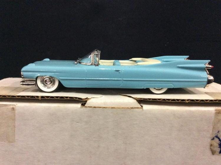 Die Cast 1959 Cadillac Convertible in box