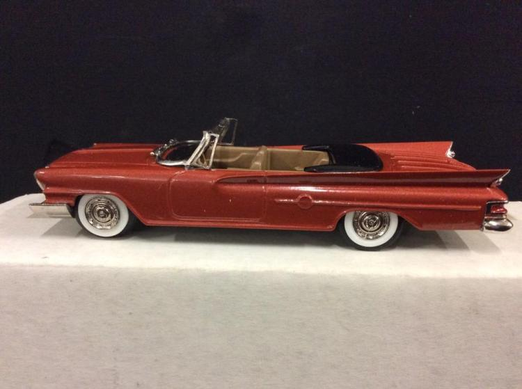M.A.E. Scale Models 1961 Chrysler 300 G Convertible in box