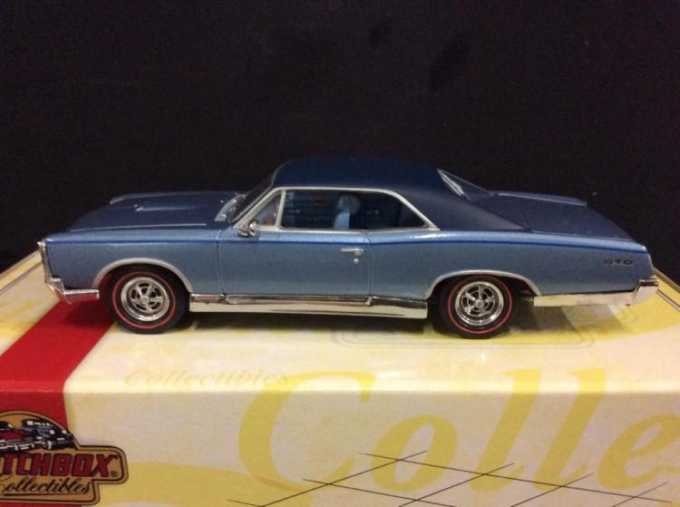 Matchbox Collectibles Pontiac GTO in box with COA