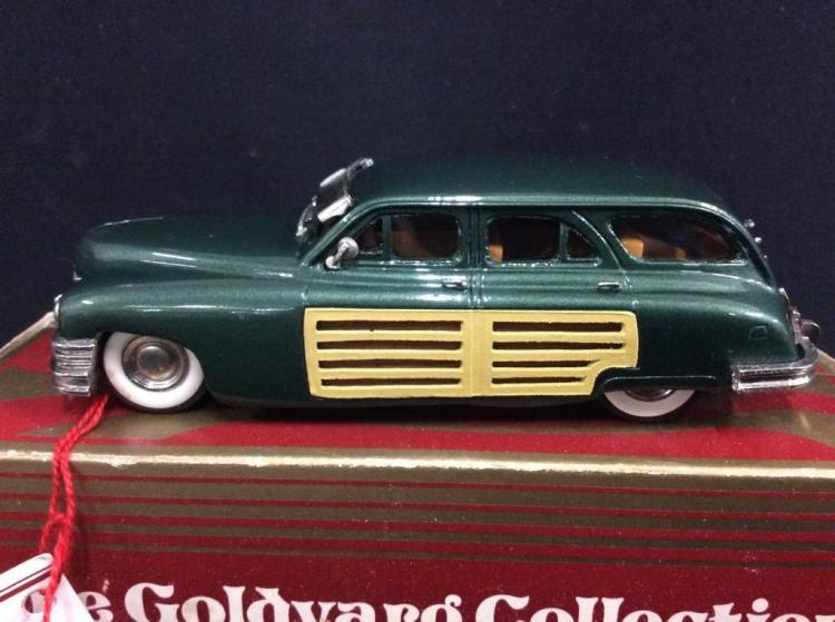 The Goldvarg Collection 1950 Woodig Wagon model car in box