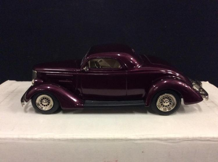 Rod & Custom Series 1936 Ford 3-window model in box