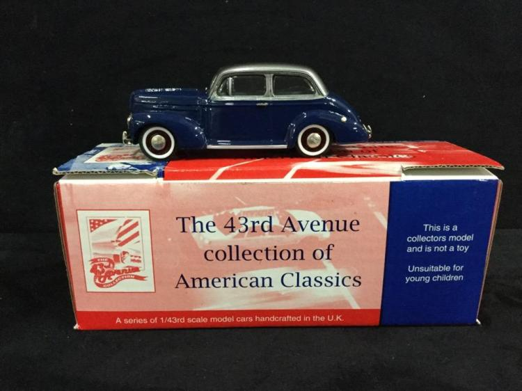 Milestone 1940 Studebaker Champion Deluxe in box