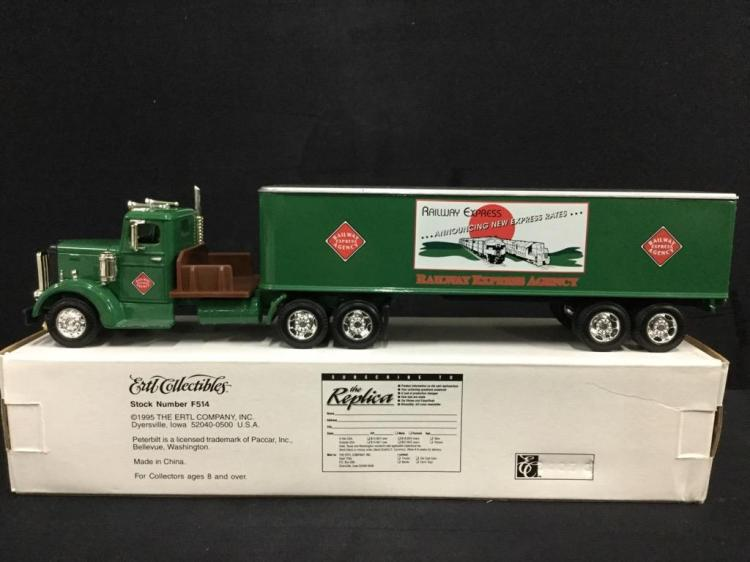 1 Peterbilt Railway Express Agency semi-truck
