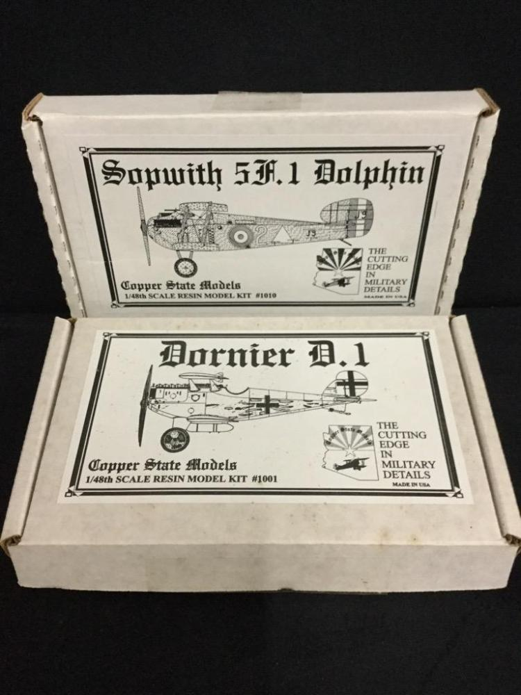 1 Copper State Sopwith 5A.1 Dolphin 1 Copperstate Dornier D.I scale 1:48