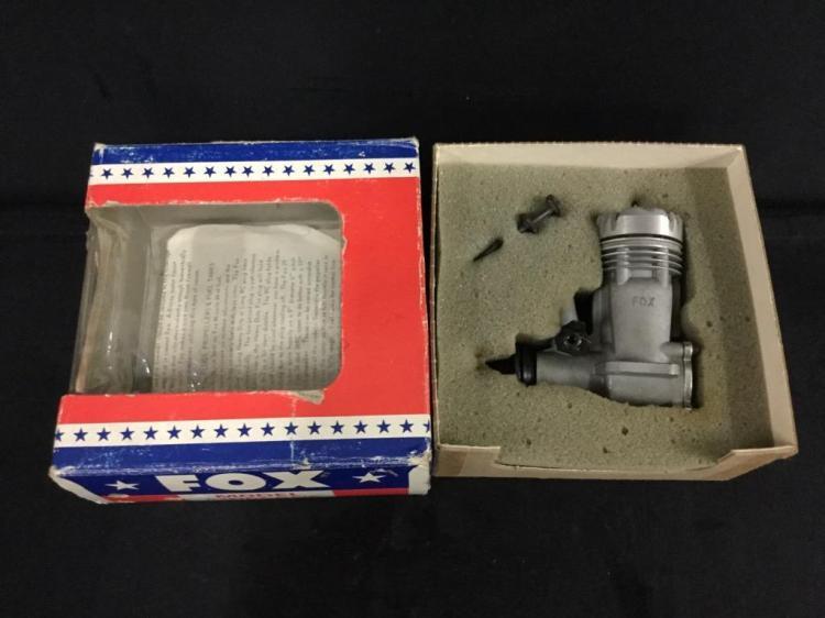A vintage Fox .29CL 2 stroke control line motor. N.I.B.