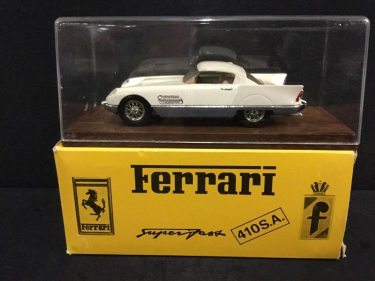 Idea 3 1953 Ferrari 410 in box Make in Italy