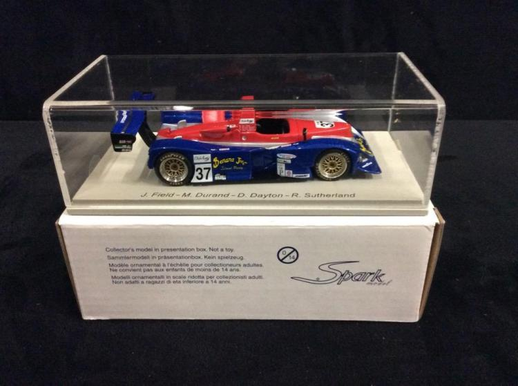 2002 MG-LOLA #37 model car in box