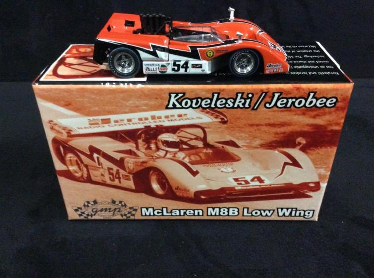GMP McLaren M8B Low Wing model car in box