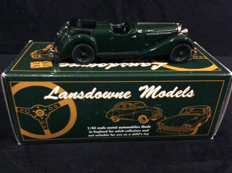 Lansdowne Models 1937