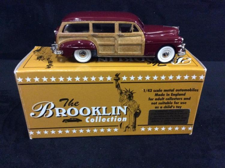 The Brooklin Collection 1949 Desoto Station Wagon in box