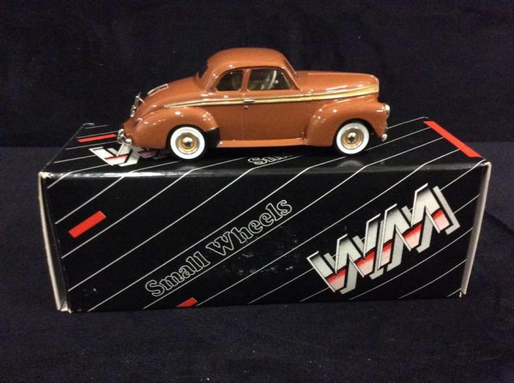 Western Models 1941 Studebaker Champion Coupe in box