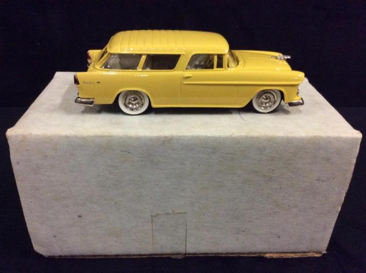 Motor City USA 1955 Chevrolet Station wagon in box