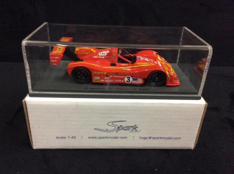 Spark Le Mans 1998 F333 SP MOMO model car in box