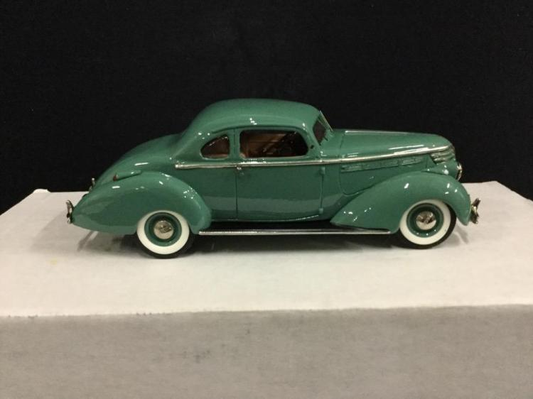 Newbank Models 1938 Hudson 8 Coupe 5 passenger Victoria in box