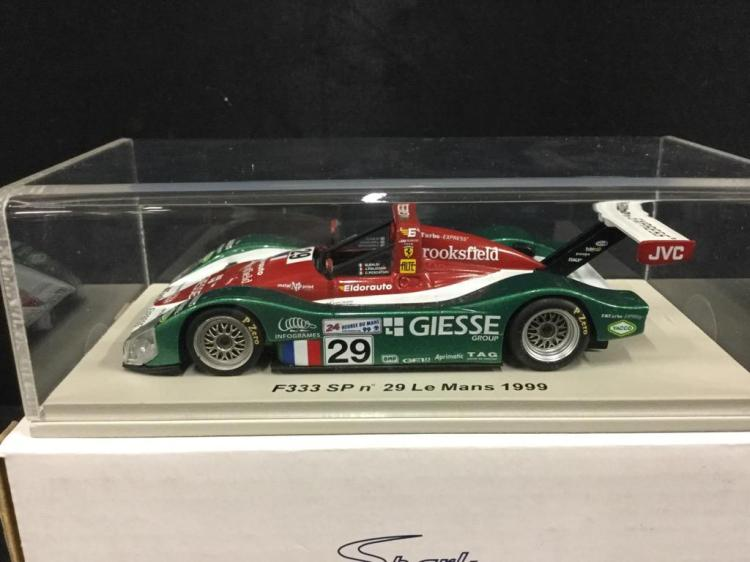 Spark Le Mans 1999 F333 SP model car in box