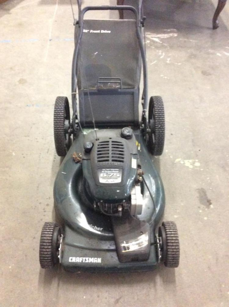 Craftsman Model 917 Push Mower : Craftsman horsepower push lawnmower model no