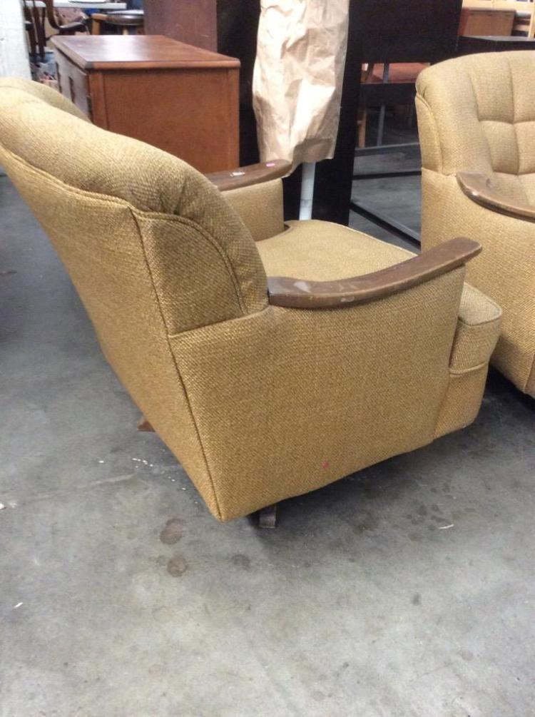 2 Mid Century Living Room Easy Chairs