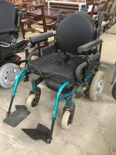 Electric wheelchair by Invacare MKIV A Torque SP, 3200 RPM - as is