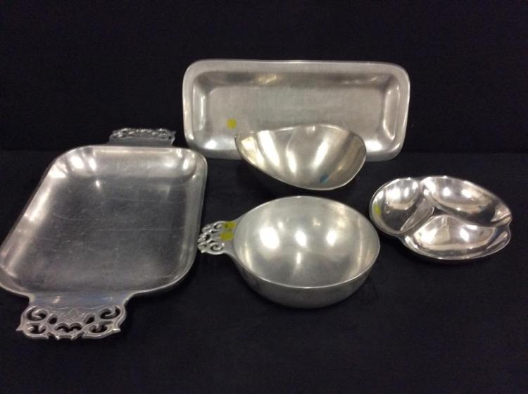 Selection of Nambe Designer dishes - various designs - high end!
