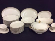 40 piece set of Handel Bavarian China - mid century - nice set